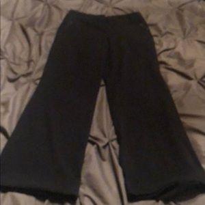 Pants - Black slacks Juniors/ kids 12
